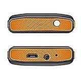 Кнопочный телефон с кнопкой SOS и отверстием для шнурка Sigma Comfort 50 mini4 оранжевый, фото 4