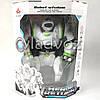 Робот на пульте управления радиоуправляемая игрушка на аккумуляторах Robowisdom белый с салатовым, фото 2