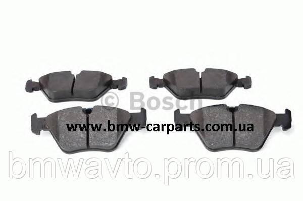 Передние тормозные колодки BMW E39 Bosch