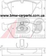 Тормозные колодки передние BMW E39 Abs