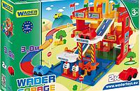 Детская игрушка  парковка Гараж с дорогой Wader