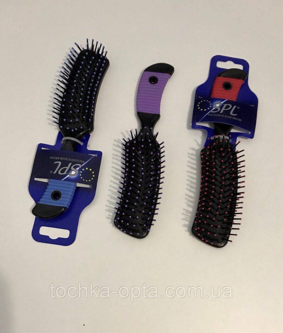 Массажная щётка для волос SPL 8584 топорик