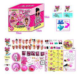 "Кукла Лол 24301 ""LOL"" CONFETTI POP в яйце в коробке ,Размер упаковки:10 см × 10 см × 10 см"