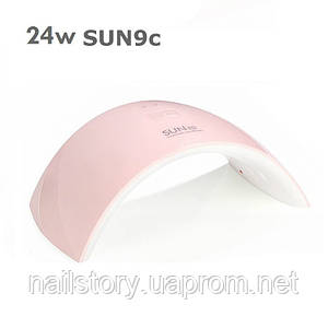 UV LED лампа SUN9c 24 ВТ розовая