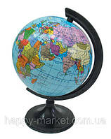 Глобус политический, диаметр 320 мм На Украинском языке