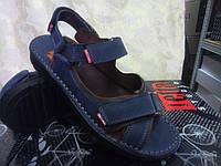 Мужские синие сандалии на липучках Detta, фото 1