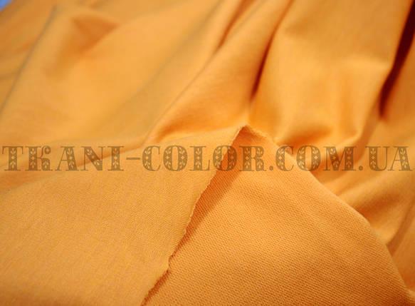 Футер двунитка оранжевая (180 см), фото 2