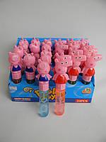 Мыльные пузыри - Свинка Пеппа , 15 см, 24 шт