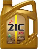 Моторное масло ZIC X9 LS Diesel SN/CF 5W-40 4 л.