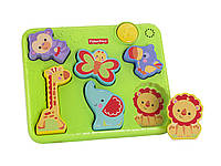 Fisher-Price Музыкальный пазл сафари Silly Sounds Puzzle, фото 1