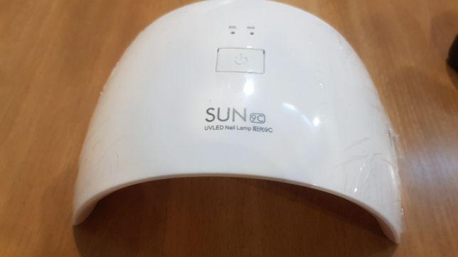 LED Лампа SUN 9C 24W для ногтей маникюра УФ UV Сушилка гель лак Шеллак