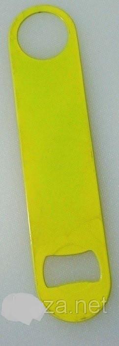 Открывашка нержавеющая желтого цвета L 180 мм (шт)