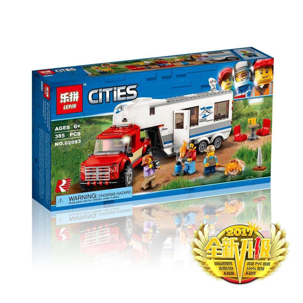 """Конструктор LEPIN 02093  """"Дом на колесах"""" 385 деталей (Аналог LEGO City 60182) Новое 2018 г"""