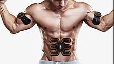 Мощный Электрический стимулятор мышц EMS TRAINER, миостимулятор, массажер для пресса, массажер бабочка