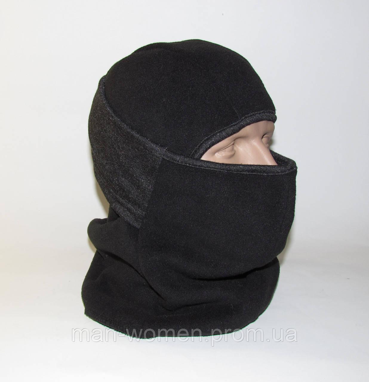 Балаклава (підшоломник, маска, шарф). Дуже тепла (до-40С)! Фліс на хутрі!