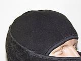 Балаклава (подшлемник, маска, шарф). Очень тёплая (до-40С)! Флис на меху!, фото 5