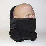 Балаклава (підшоломник, маска, шарф). Дуже тепла (до-40С)! Фліс на хутрі!, фото 3