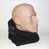 Балаклава (підшоломник, маска, шарф). Дуже тепла (до-40С)! Фліс на хутрі!, фото 4