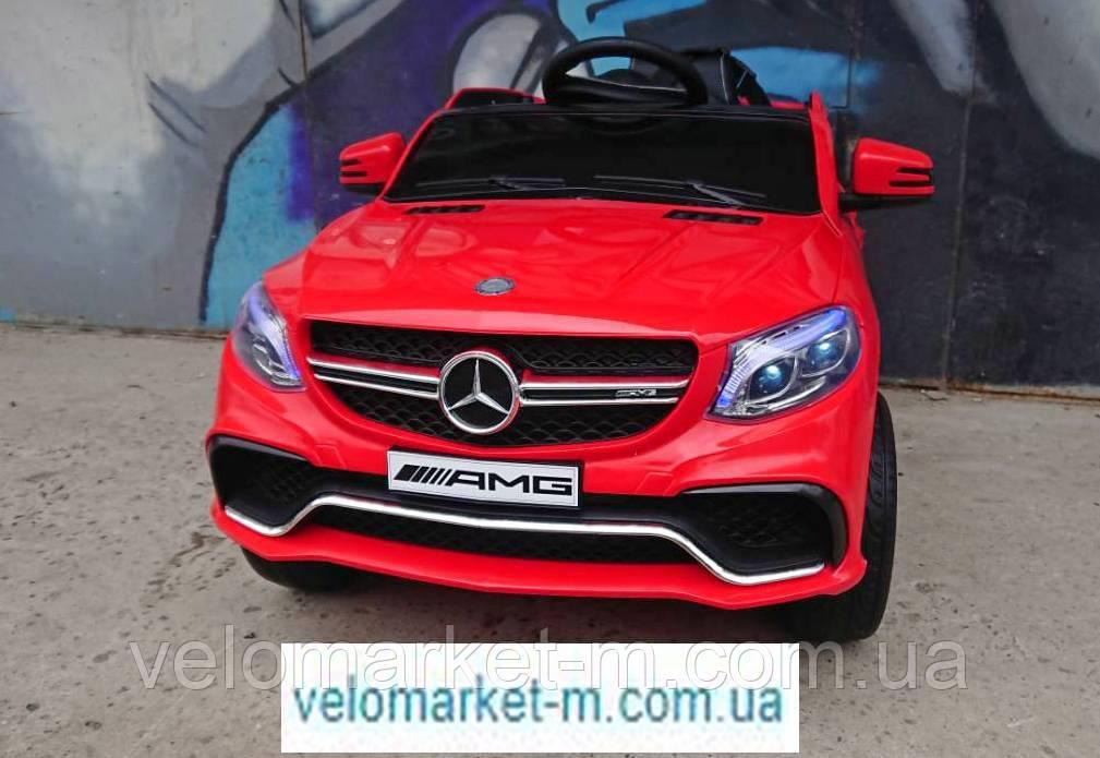 Електромобіль Mercedes ML-350 AMG червоний