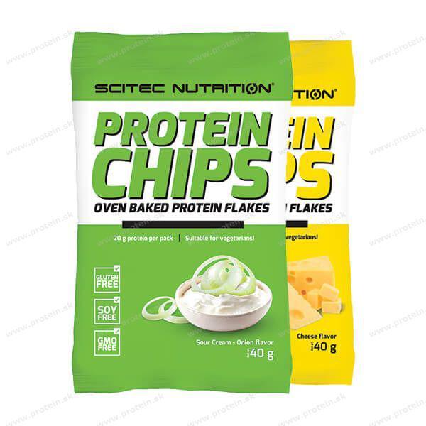 Заменитель питания Scitec Nutrition Protein Chips 40 g