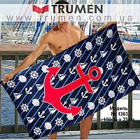Пляжное мужское полотенце, 1303-Towel