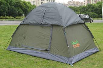 Палатка 3005 турисческие двухместная Green Camp,Размеры: 2,1x1,5x1,3 м.