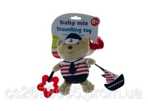 Подвеска плюшевая с вибрацией Медведь моряк 6464 Baby Mix