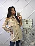 Женская стильная удлиненная блуза (4 цвета), фото 2