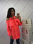 Женская стильная удлиненная блуза (4 цвета), фото 3