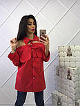 Женская стильная удлиненная блуза (4 цвета), фото 4