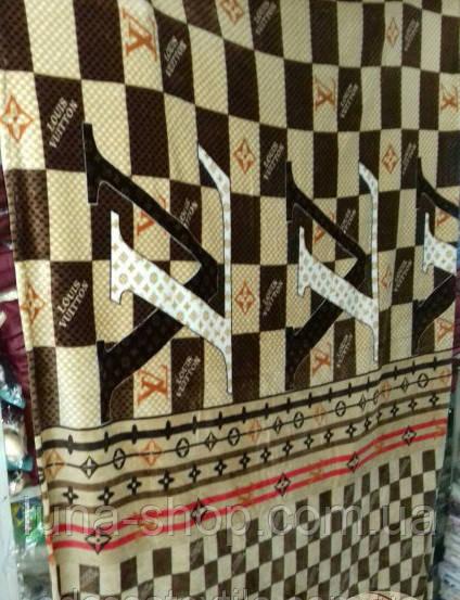 7a711b9a5723 Плед-покрывало с брендовым логотипом Луи Витон, из микрофибры, 160*220,