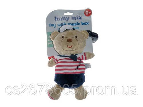 Подвеска музыкальная Медведь моряк и морячка 1172 Baby Mix