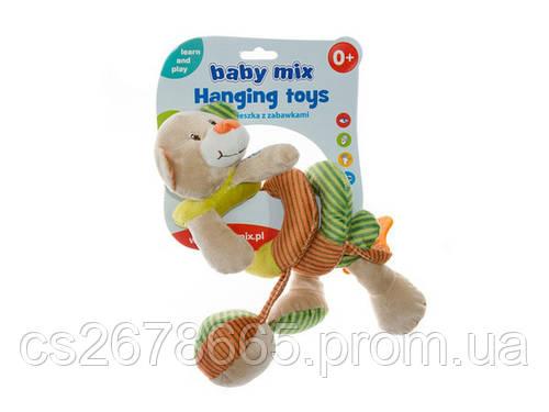 Растяжка - cпираль Медведь 25498 Baby Mix