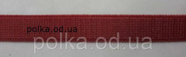 Бельевая резинка бордовая, ширина 1см, цвет бордо