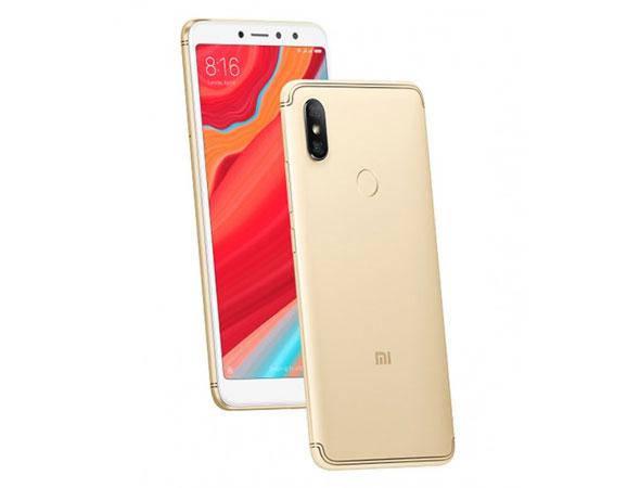 Смартфон Xiaomi Redmi S2 3/32gb Gold Qualcomm Snapdragon 625 3000 мАч