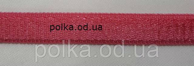 Резинка бретель малиновая, ширина 12мм, цвет малиновый (нарезаем от 20м)