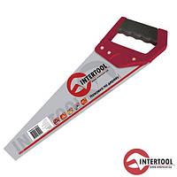 """Ножівка по дереву InterTool  L-400мм (7зуб х1"""")"""