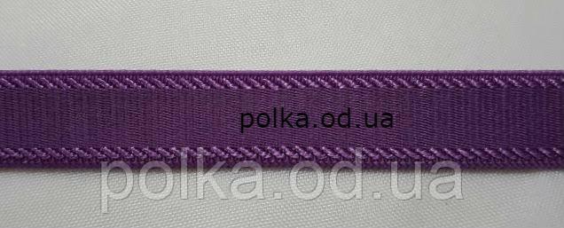 Резинка бретель, 1см, цвет фиолетовый