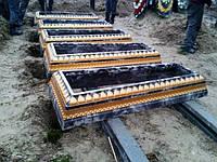 Бетонные надгробия, фото 1