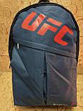 Рюкзак конверс UFC-REEBOK Унисек спортивный городской спорт стильный оптом, фото 2