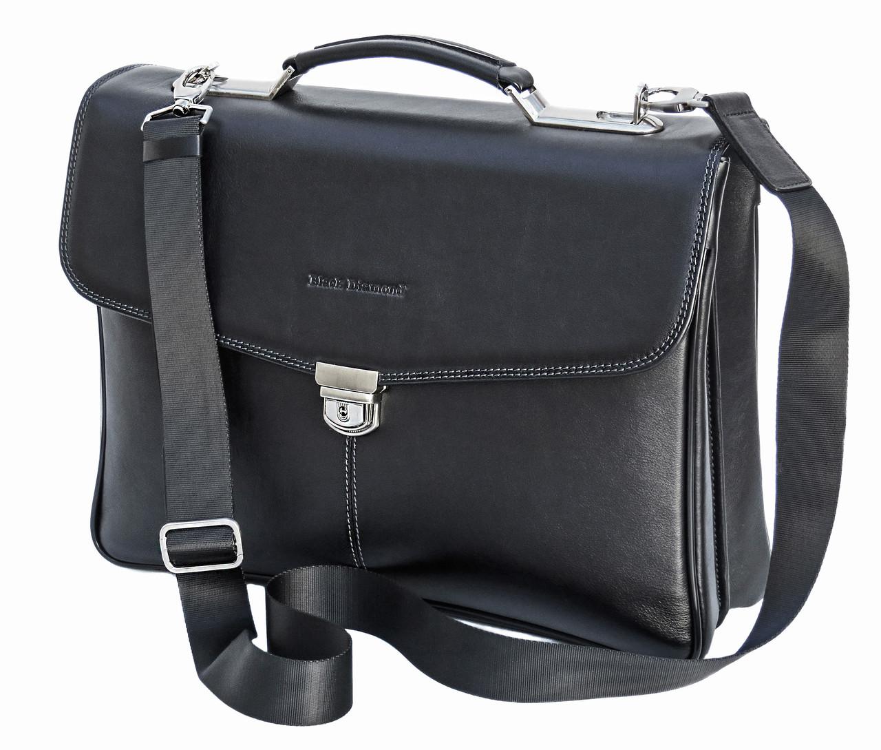 7c19975c15b9 Мужской кожаный портфель Black Diamond BD21A - Интернет-магазин сумок