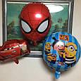 Воздушные шары человек паук голова 40 см, фото 2