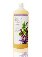 Органическое мыло Lavender-Olive жидкое успокаивающее, с лавандовым и оливковым маслами SODASAN  1 л