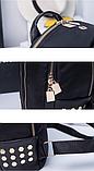 Рюкзак Sujimima чорний, фото 5