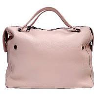 Сумка женская натуральная кожа NONA 1504Leth Розовый
