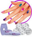 Набор для росписи ногтей stamping salon express, фото 4