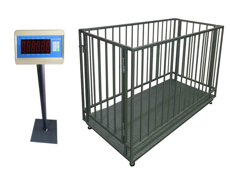Весы для взвешивания животных ВПД-СК-1520-0,5 до 500 кг