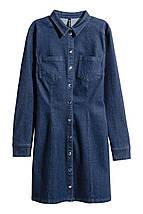 Джинсовое платье H&M, фото 2