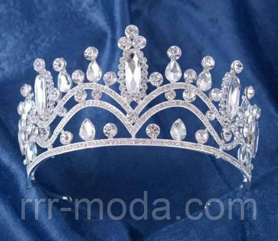 Шикарные свадебные тиары, короны, диадемы оптом.