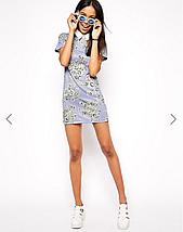 Новое прямое платье с воротничком Glamorous, фото 2